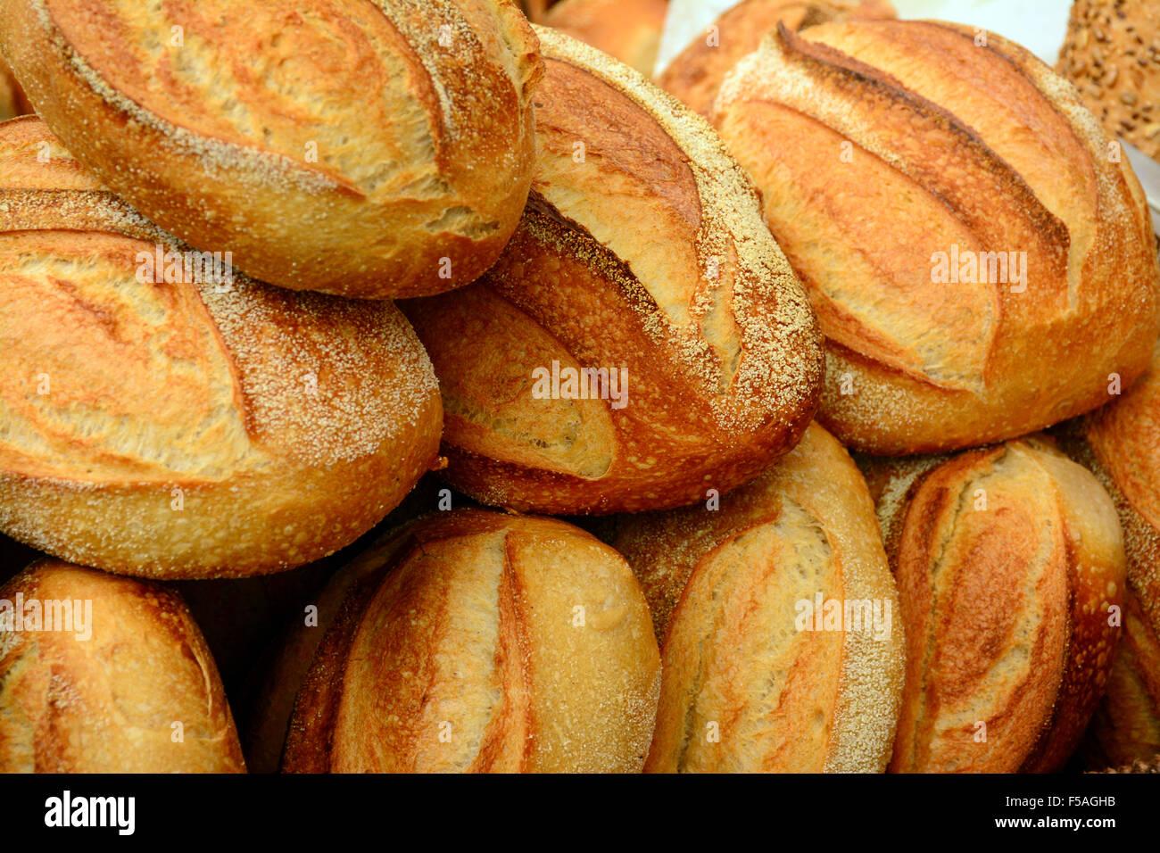 Fresh buns - Stock Image