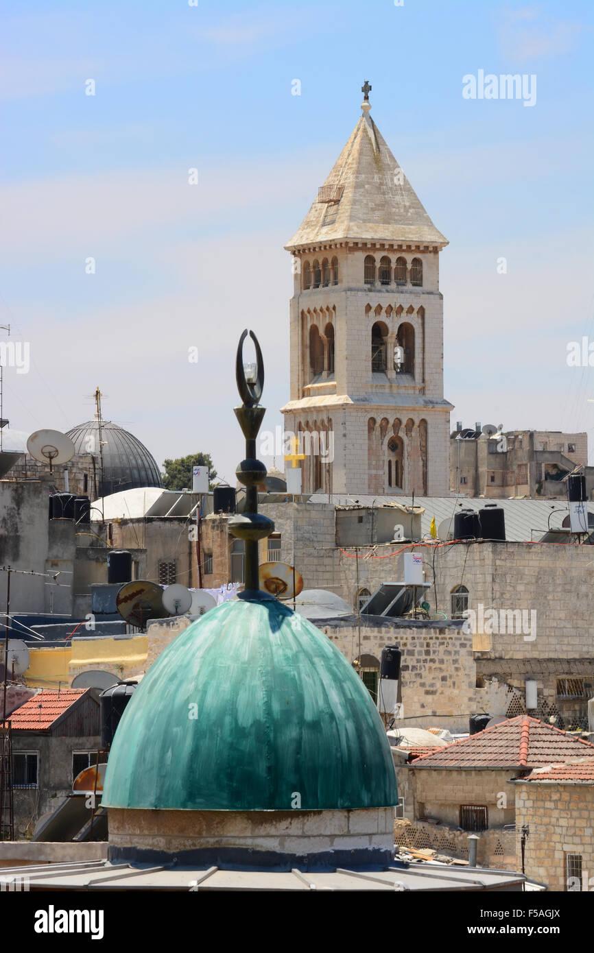 Jerusalem holy sites, Israel - Stock Image