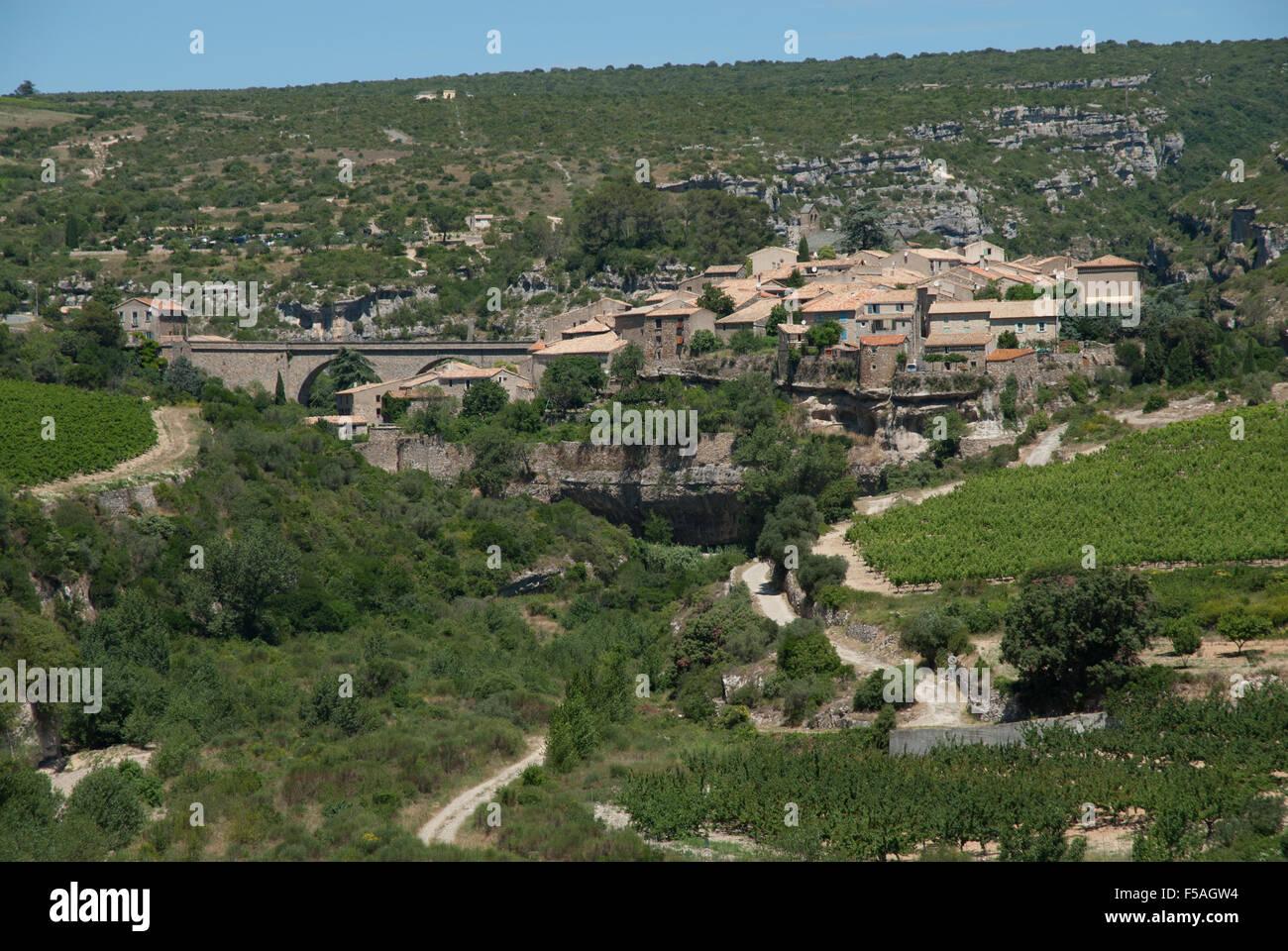 Minerve, France - Stock Image