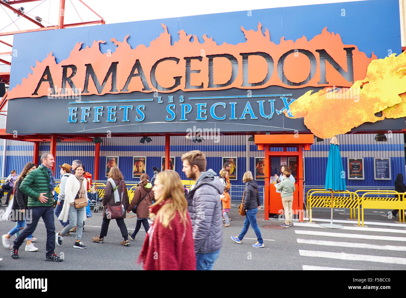Armageddon Special Effects Attraction Walt Disney Studios Disneyland Paris Marne-la-Vallee Chessy France - Stock Image