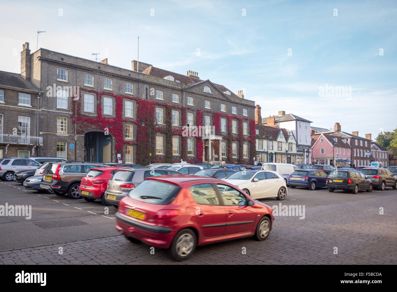 The Angel Hotel, Bury St Edmunds - Stock Image