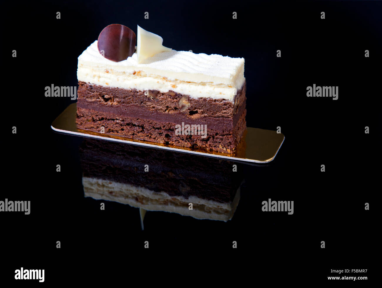 Chocolate Ice Cream Cake Beautiful Stock Photos Chocolate Ice
