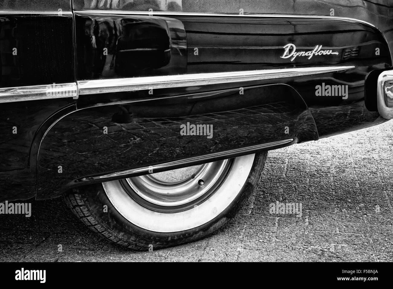 classic car close up - Stock Image
