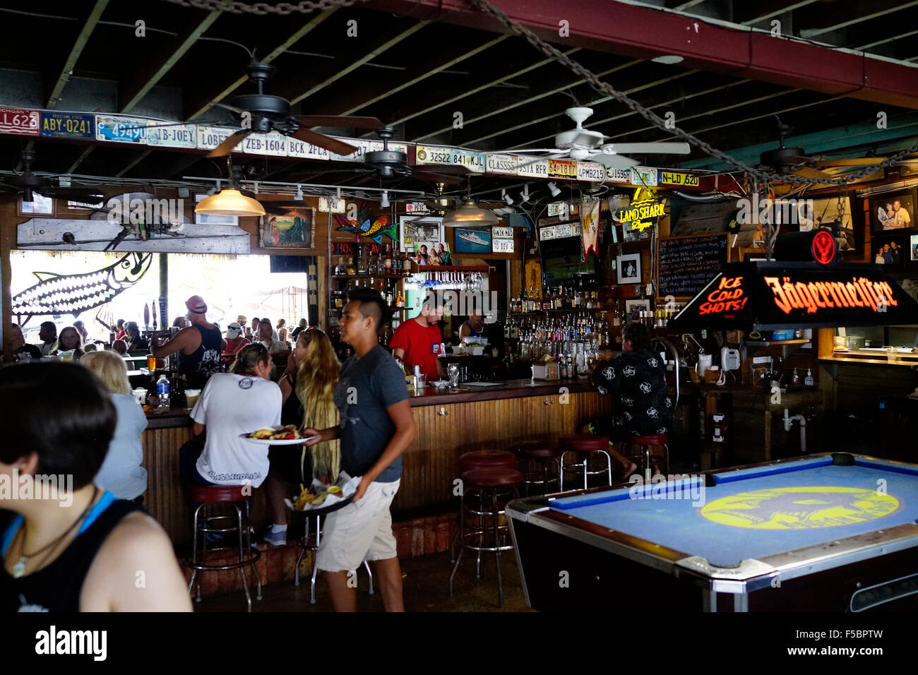 HogFish Bar Grill Key West Florida USA Pool Table Bar And - Pool table key