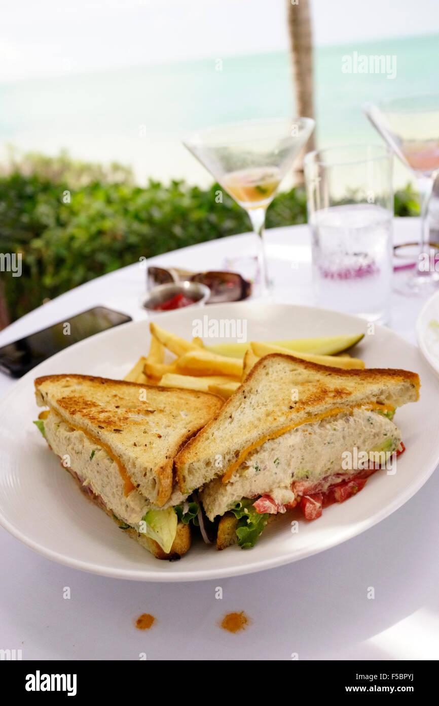 Latitudes Restaurant On Sunset Key Key West Florida Usa Gourmet