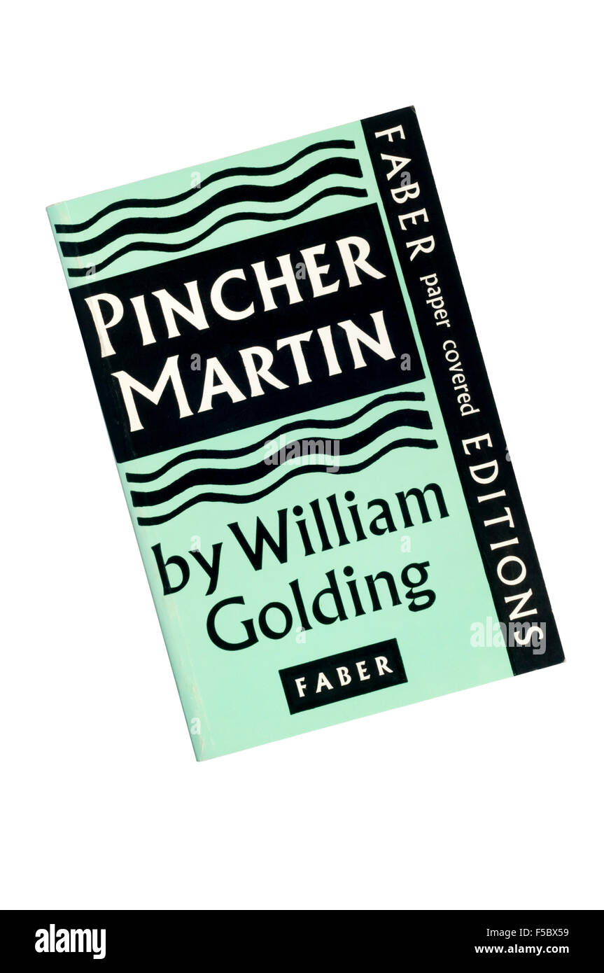 A paperback copy of Pincher Martin, the third novel by William Golding, published by Faber & Faber. First published - Stock Image