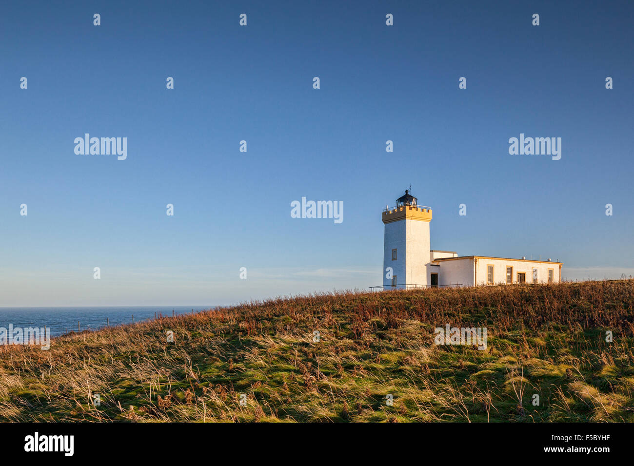 Lighthouse at Duncansby Head, near John o' Groats in Caithness, Scotland, UK. - Stock Image