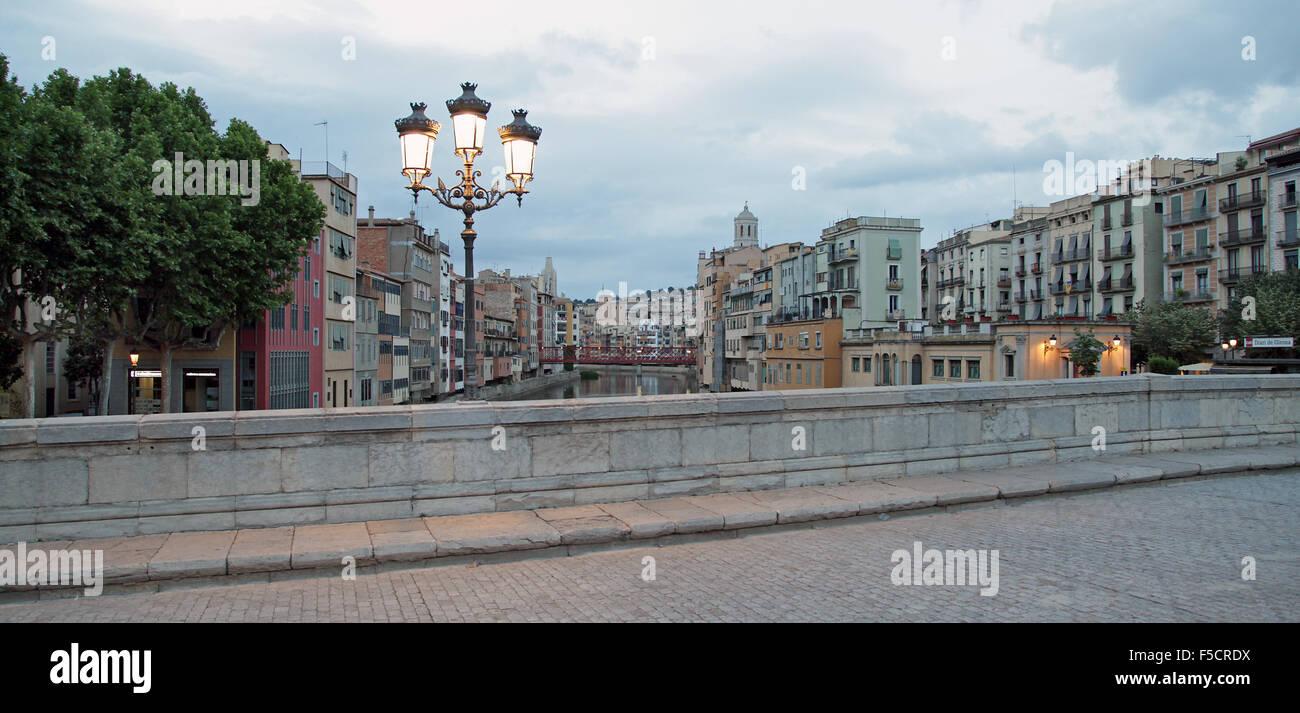 Girona Catalonia Spain Stock Photo