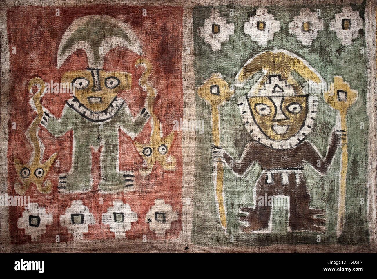 viracocha and son inti deities of pre