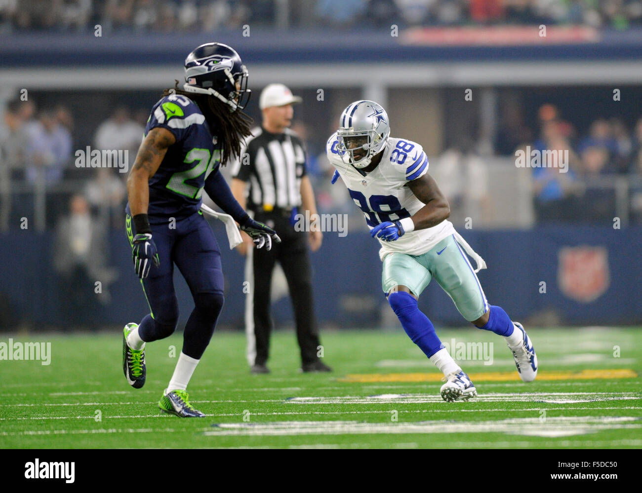 November 1 2015 Dallas Cowboys Wide Receiver Dez Bryant
