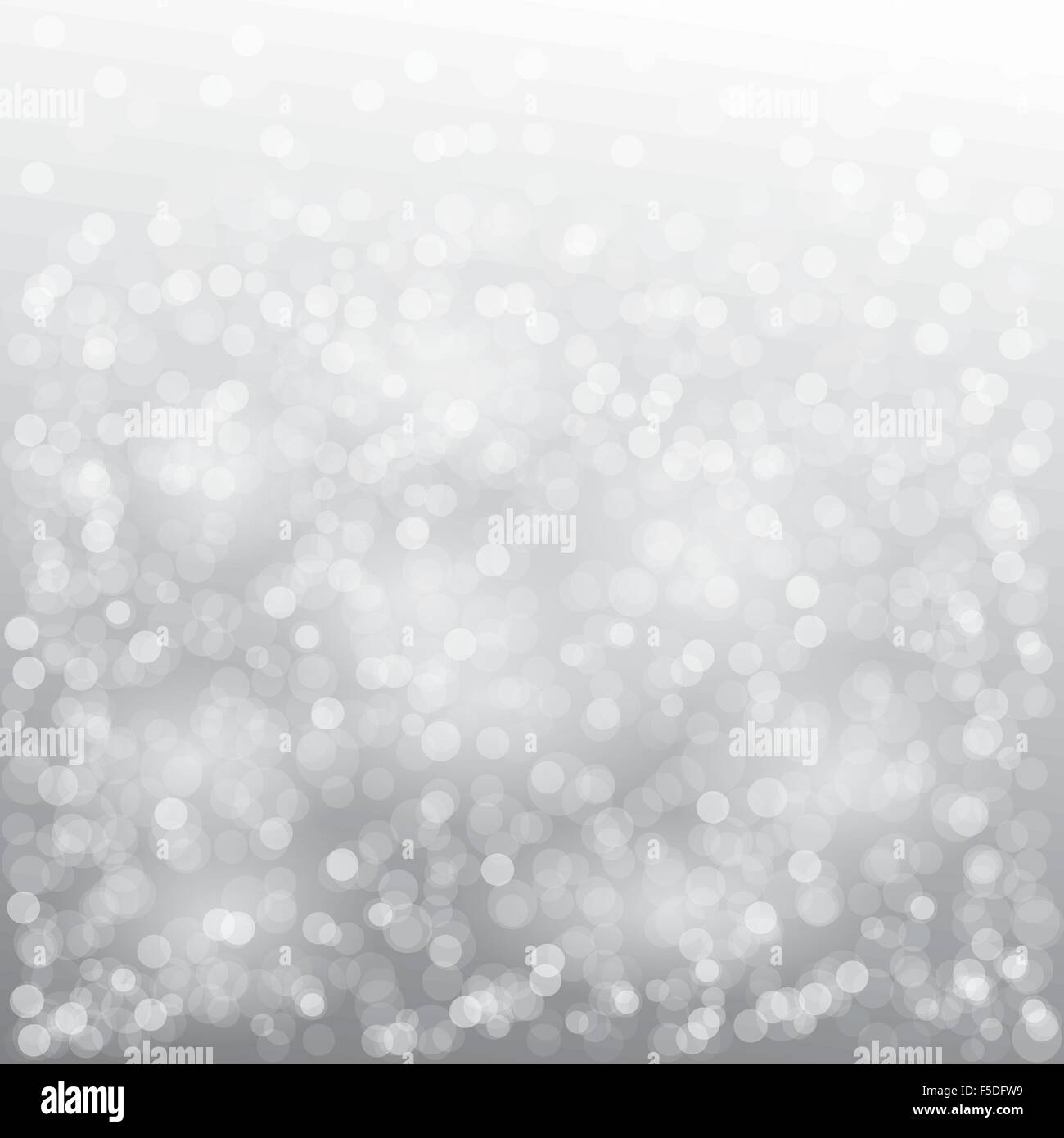 Christmas card design with snowflake on gray background - Stock Image