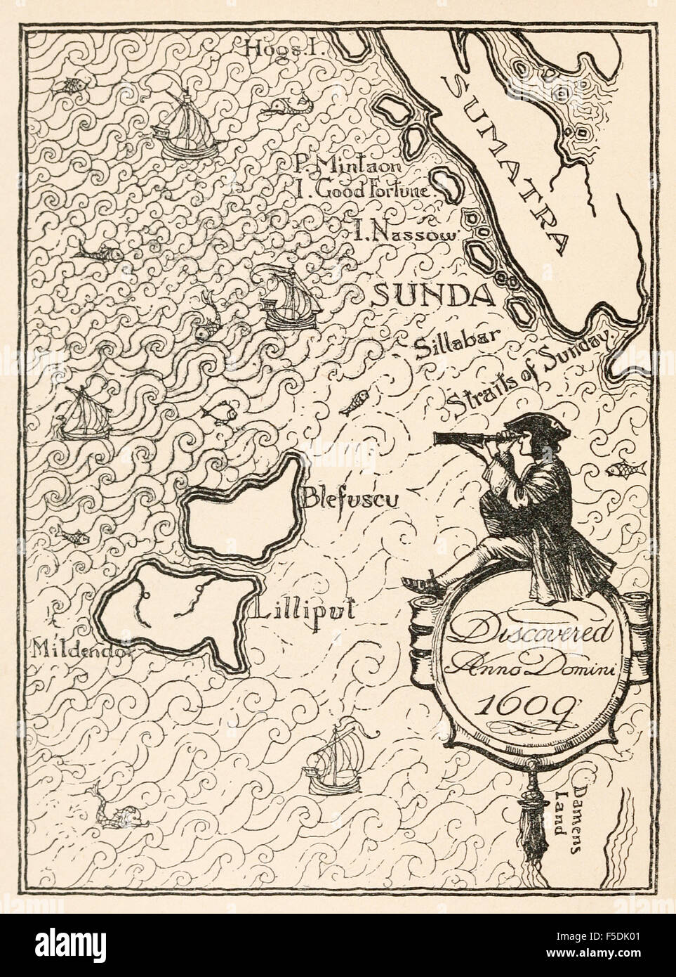 Gullivers Travels (with illustrations and maps)  [illustrated]