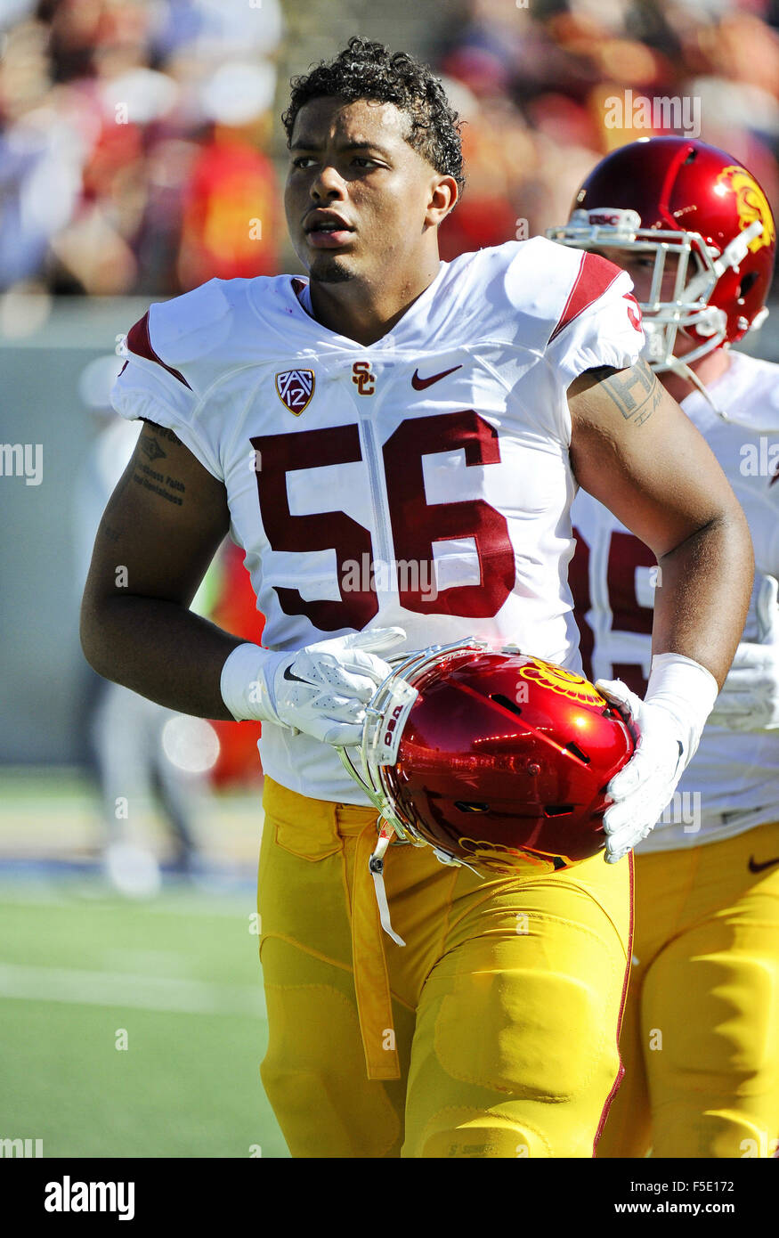 info for 9b6a1 213dd October 31, 2015  Jordan Austin of the USC Trojans in action during a 27-21  victory over the Cal Bears at Kabam Field at California Memorial Stadium in  ...