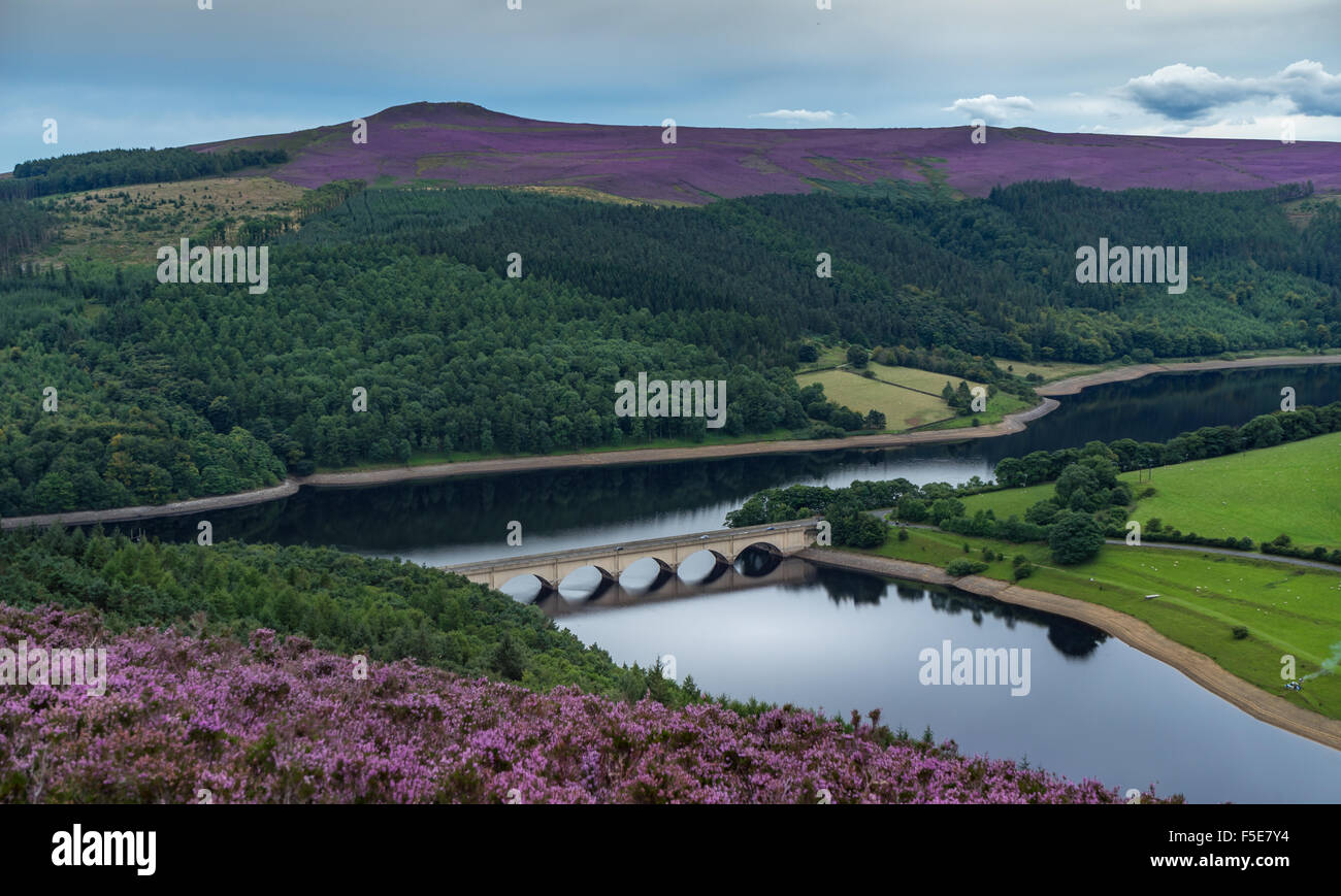 Ladybower Reservoir, Peak District, Derbyshire,United Kingdom - Stock Image