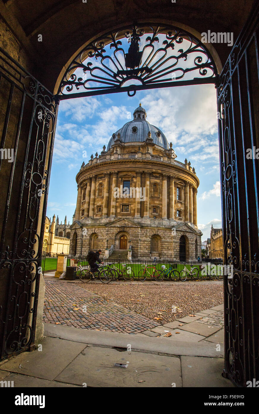 Radcliffe Camera, Oxford, Oxfordshire, England, United Kingdom, Europe - Stock Image