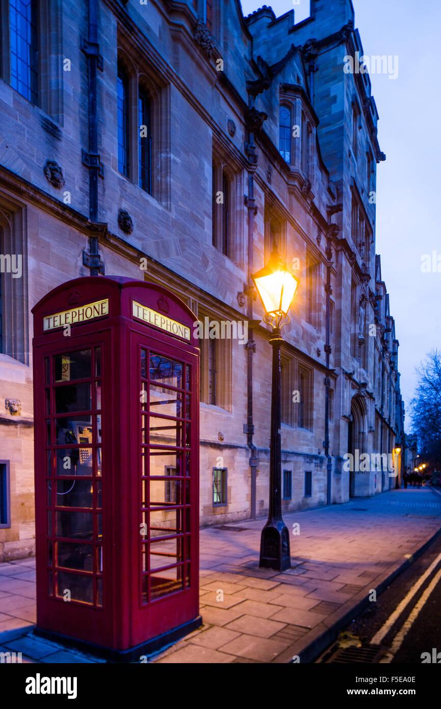 St. Giles Street, Oxford, Oxfordshire, England, United Kingdom, Europe - Stock Image
