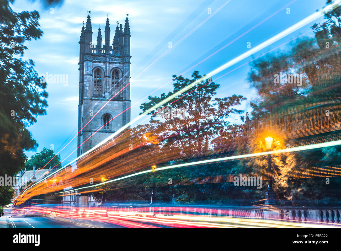 Magdalen College, Oxford, Oxfordshire, England, United Kingdom, Europe - Stock Image