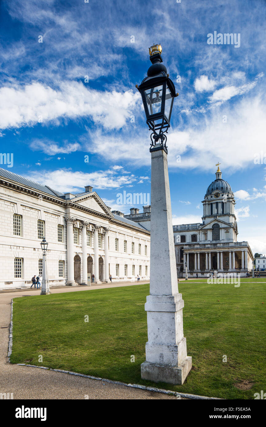 Greenwich Maritime Museum, UNESCO World Heritage Site, London, England, United Kingdom, Europe - Stock Image