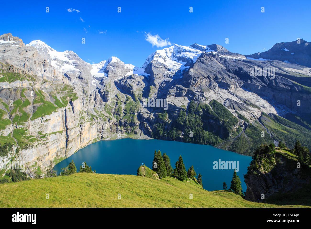 Bernese oberland summer lake stock photos bernese for Summer lake