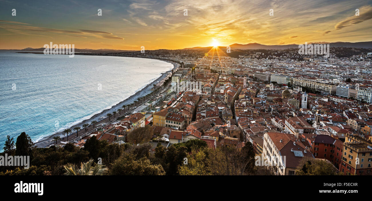 City of Nice - Stock Image