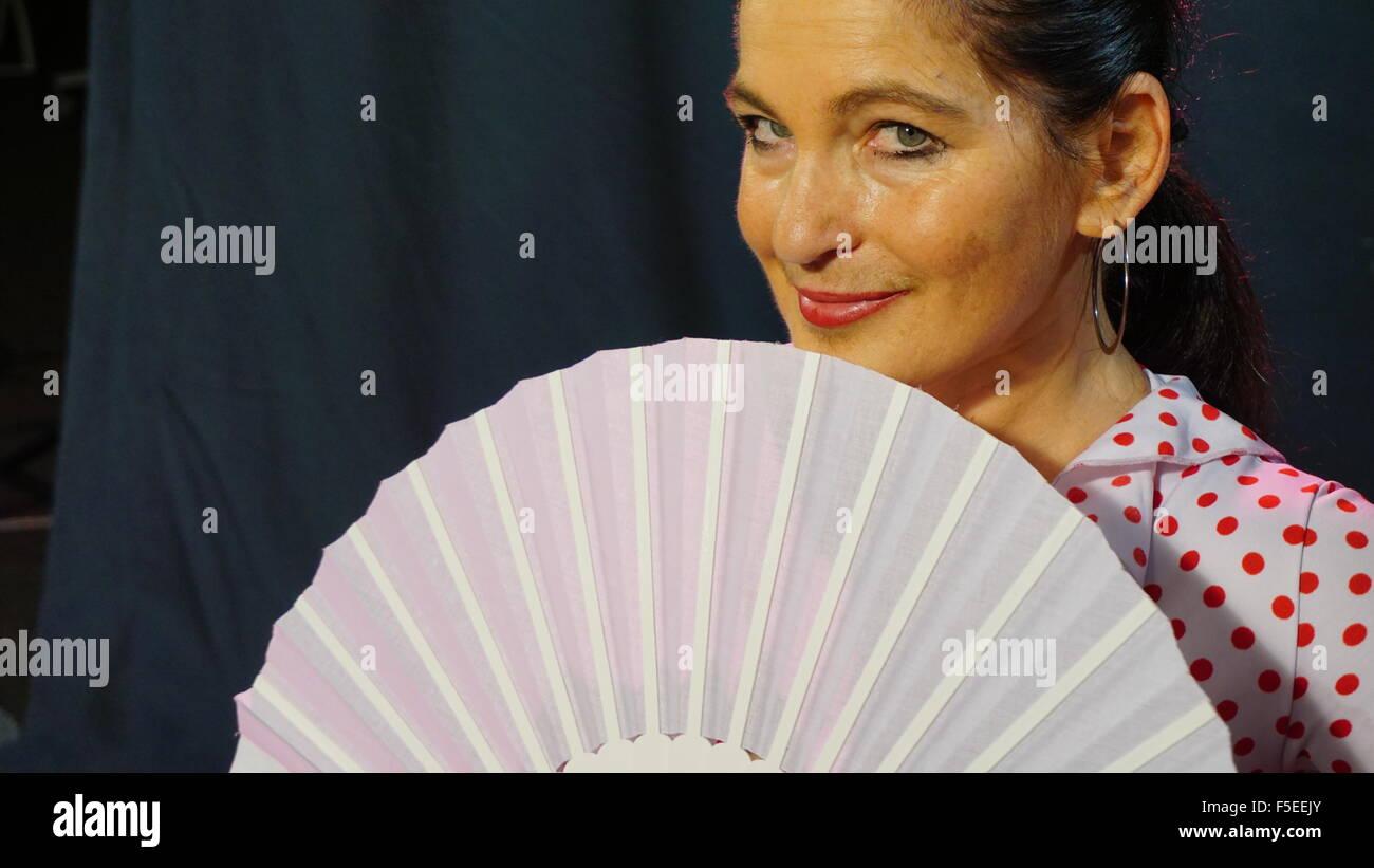 Flamenco dancer. - Stock Image