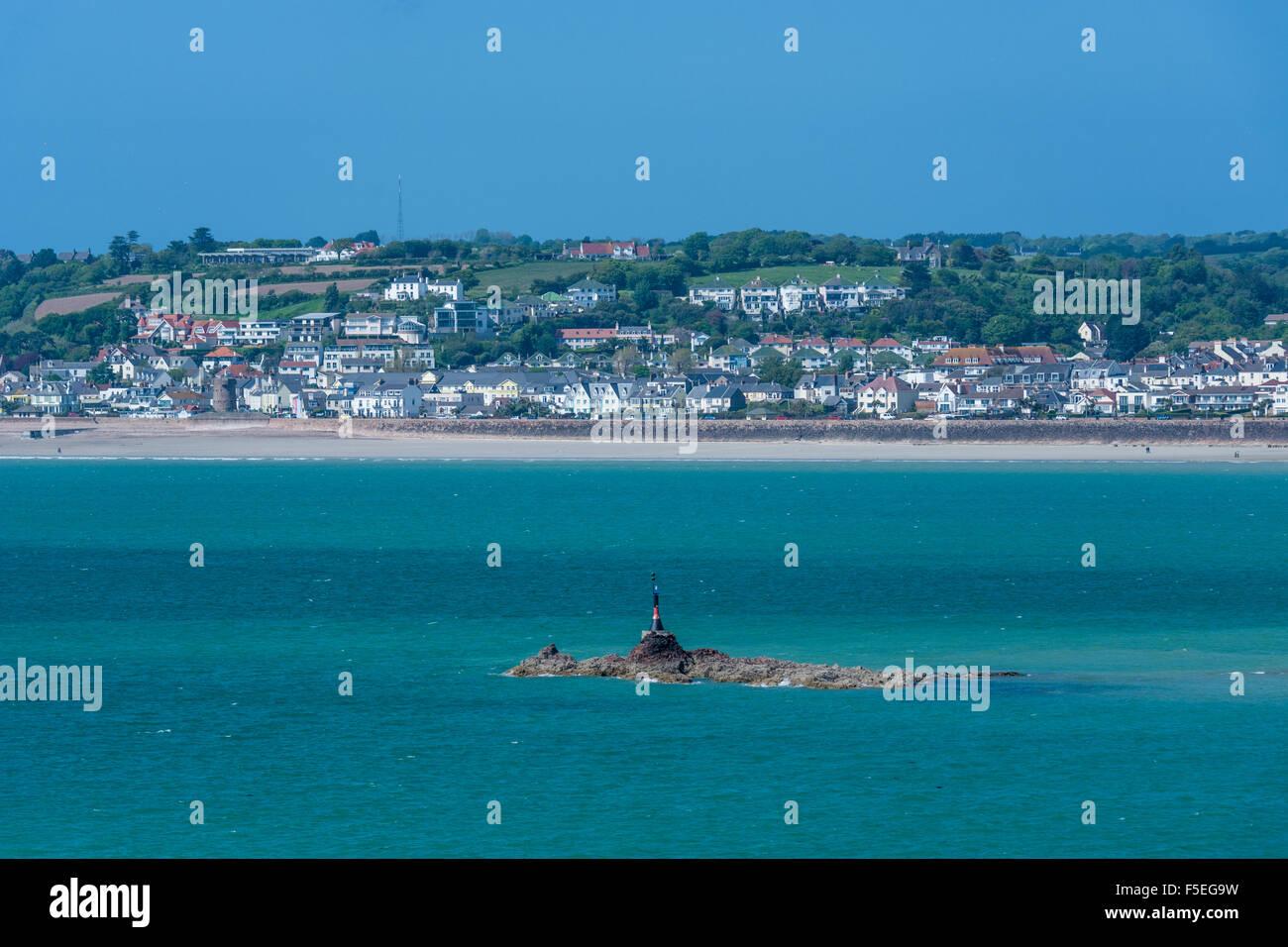 Saint Helier, Jersey, Channel Islands - Stock Image
