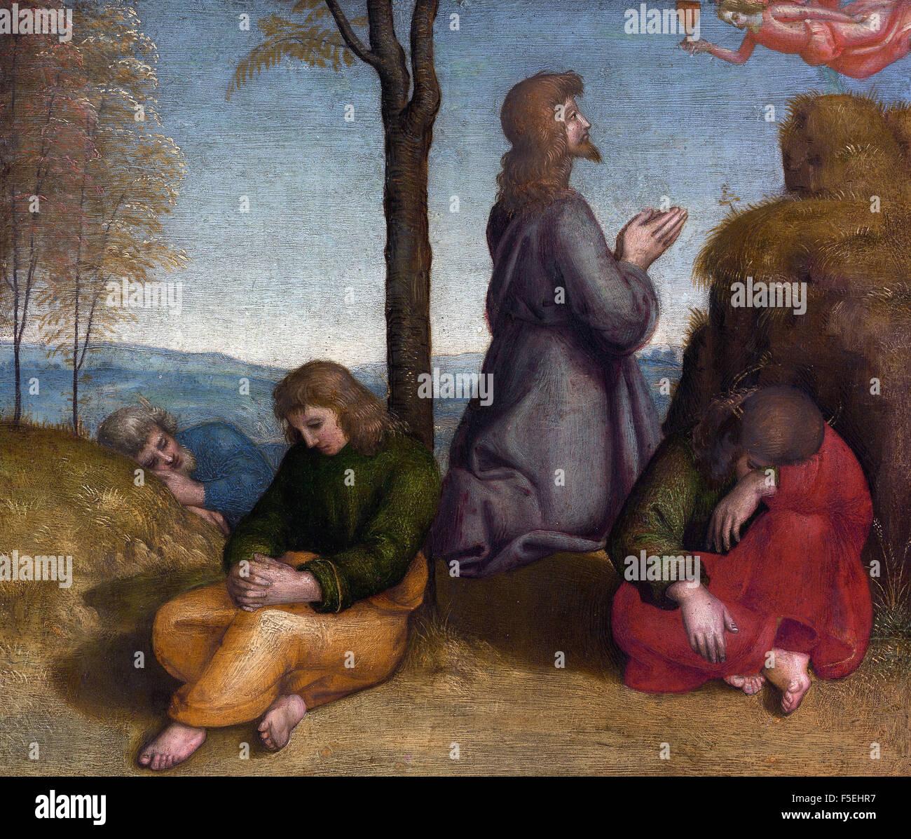 Raffaello Sanzio - Raffaello - The Agony in the Garden 1137 Stock Photo