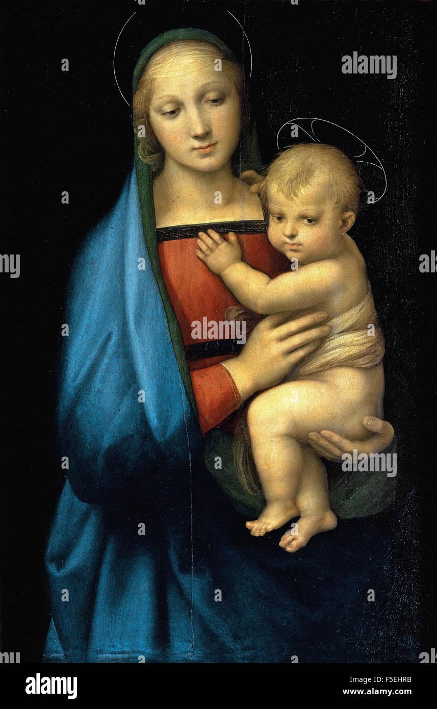 Raffaello Sanzio - Raffaello - The Granduca Madonna 1367 Stock Photo