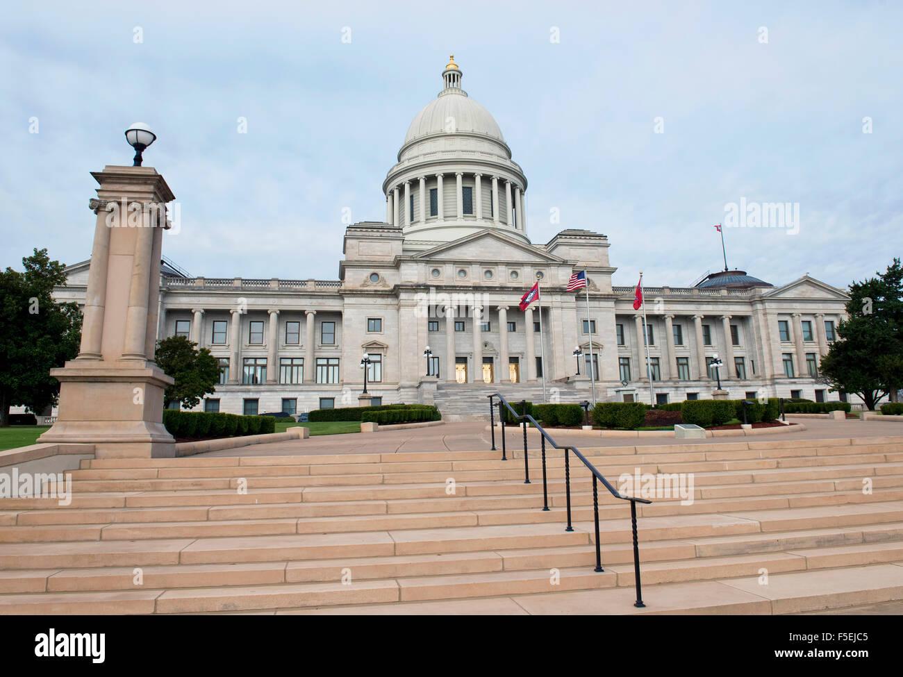 Arkansas state capitol dome stock photos arkansas state capitol state capital building in little rock arkansas stock image malvernweather Gallery