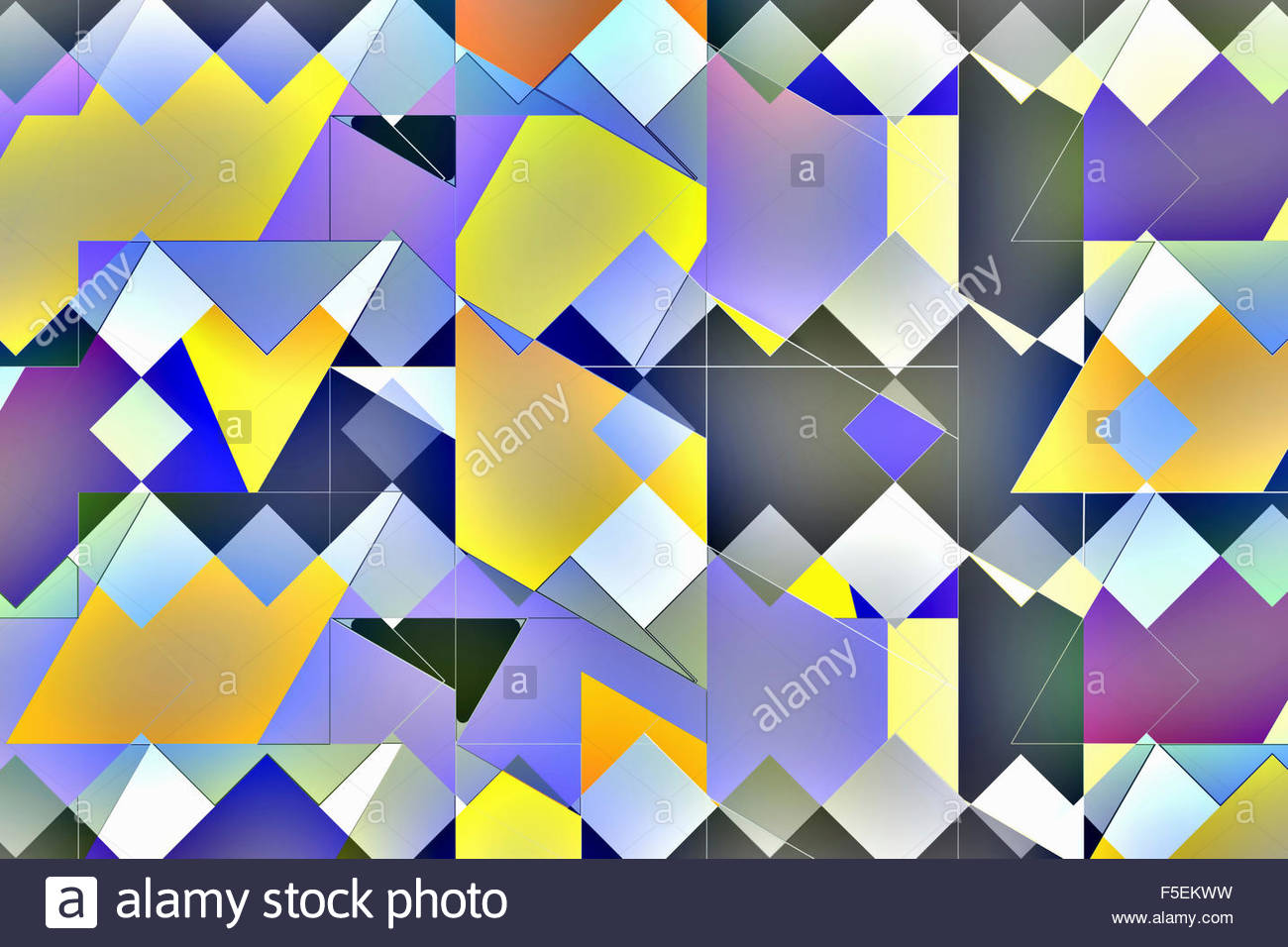 Abstract tile pattern - Stock Image