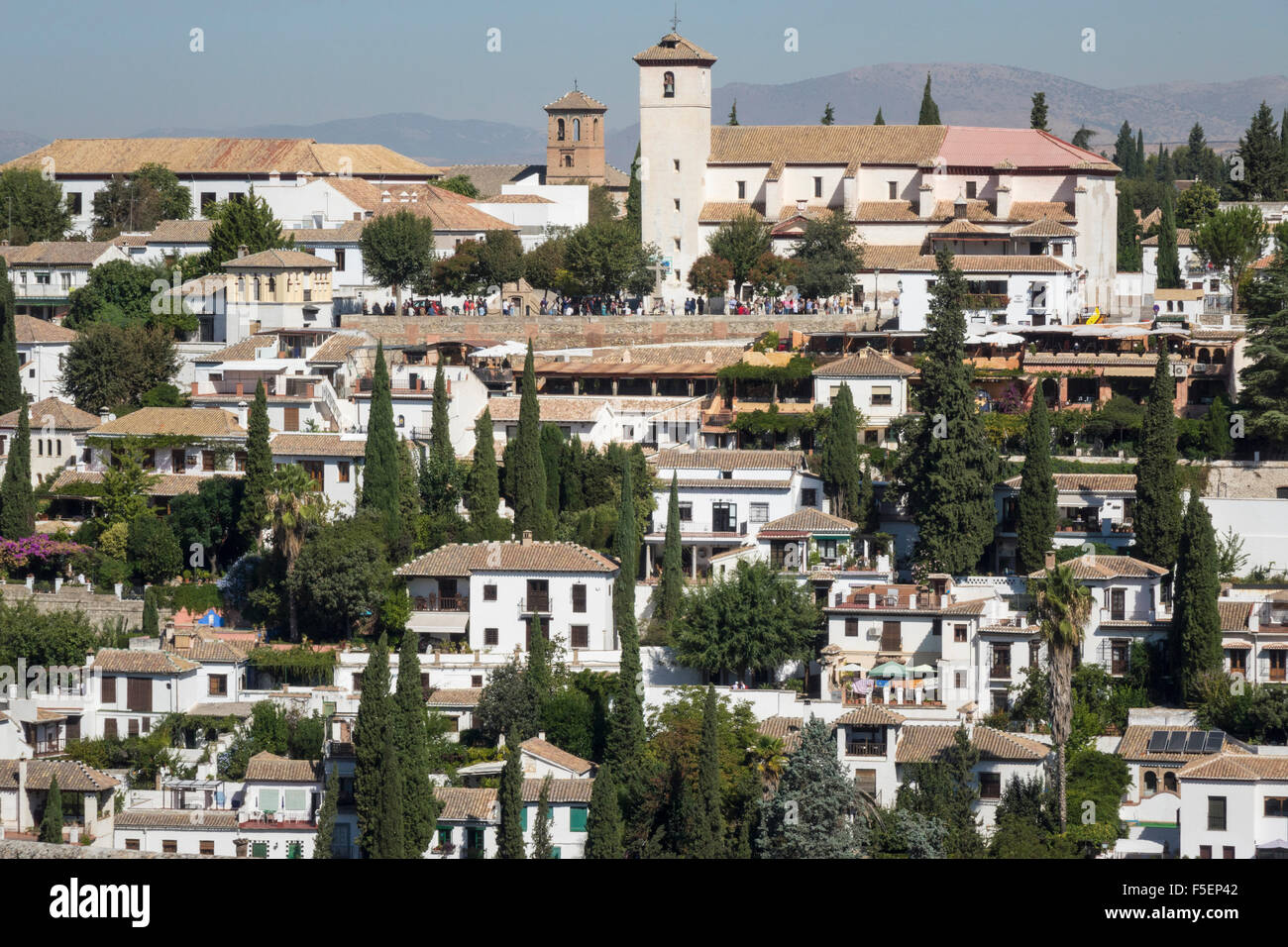 Granada in Andalucia, Spain, Europe - Stock Image