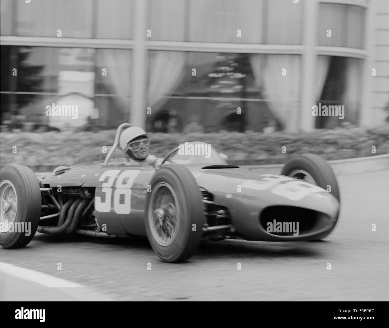 Ferrari 156 Sharknose, Phil Hill, l 1961 Monaco Grand Prix - Stock Image