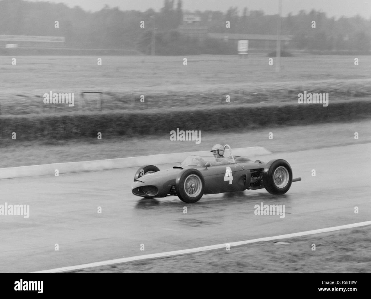 Ferrari 156, Wolfgang Von Trips. 1961 Italian GP Monza - Stock Image