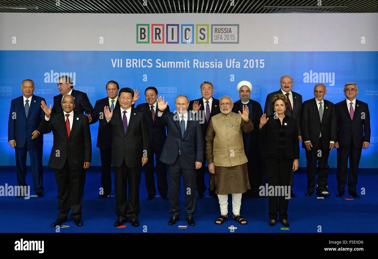 Preparations for the BRICS summit in Ufa - the view of the native inhabitants