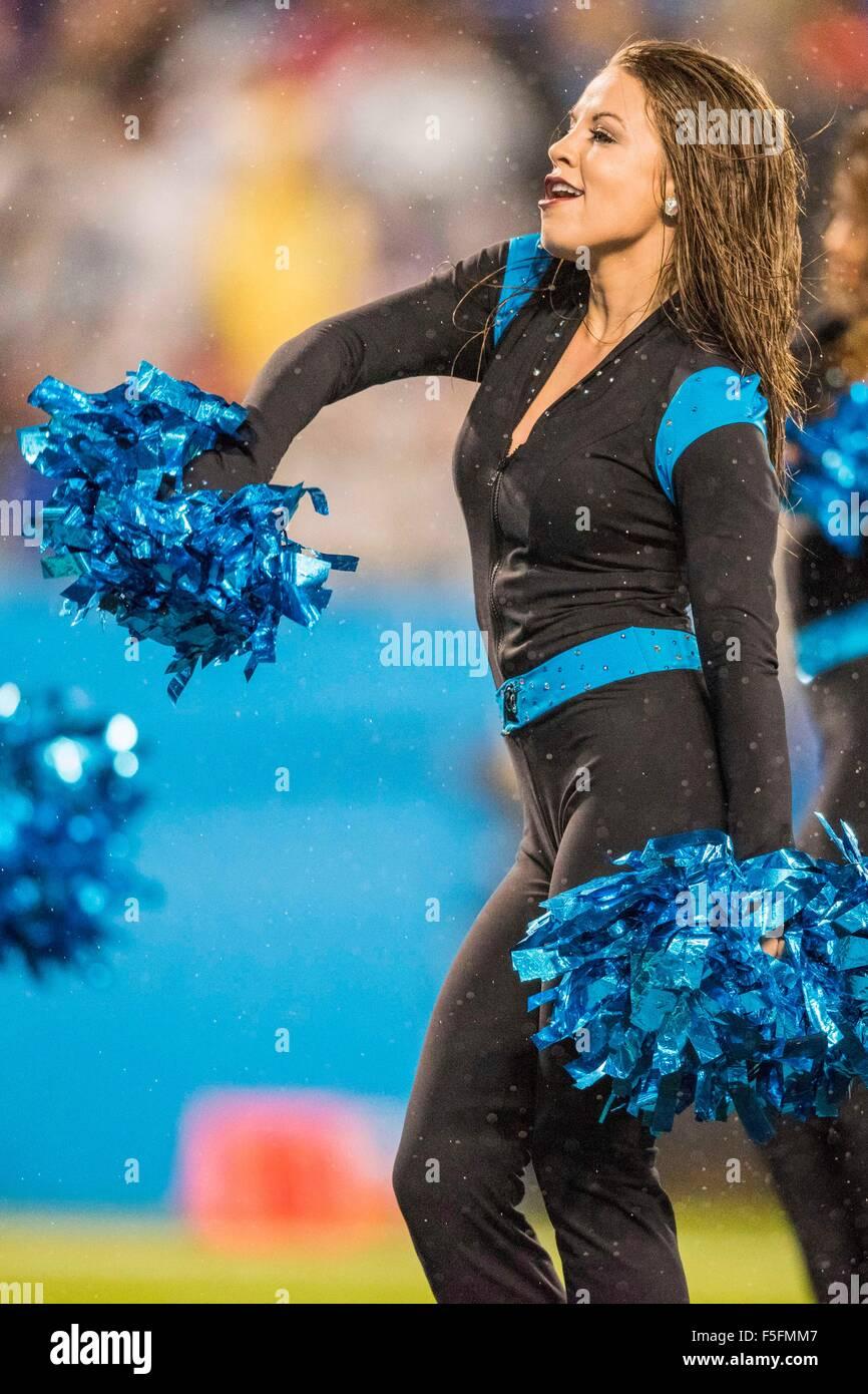 "NFL Infant Carolina Panthers /""Fan Jersey/"" Romper"