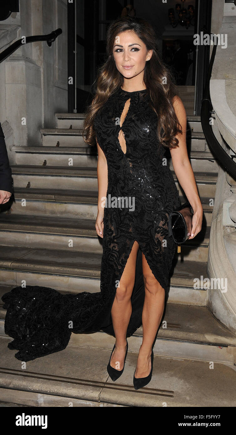 Casey Batchelor leaving the Corinthia Hotel  Featuring: Casey Batchelor Where: London, United Kingdom When: 02 Sep - Stock Image
