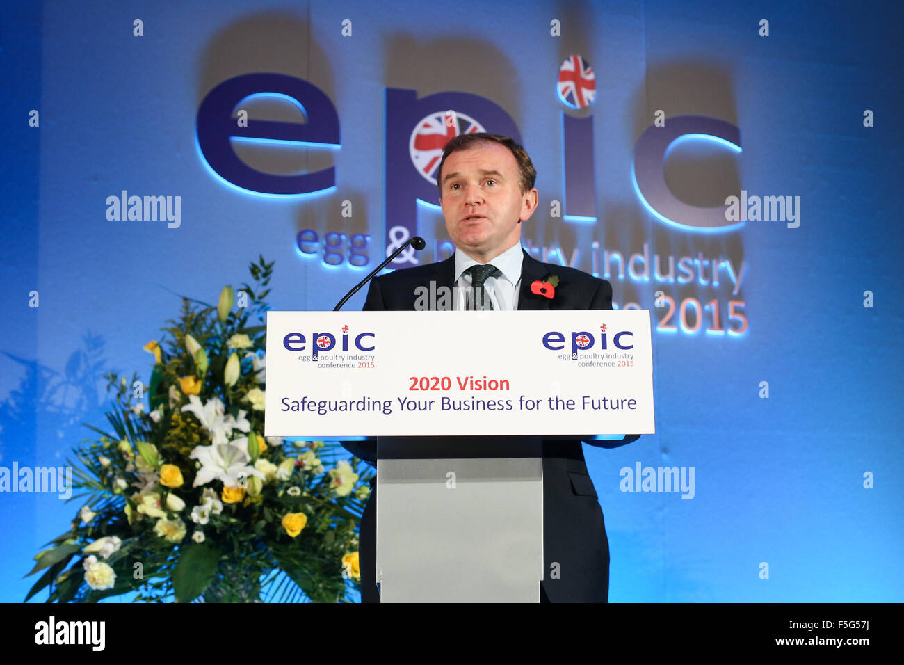 George Eustice, British Conservative Party politician, MP for Camborne and Redruth, Minister for Farming. - Stock Image