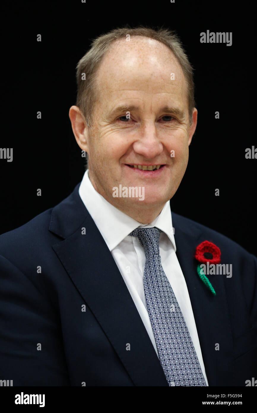 Kevin Hollinrake, a British Conservative Party politician and  Member of Parliament for Thirsk and Malton. - Stock Image