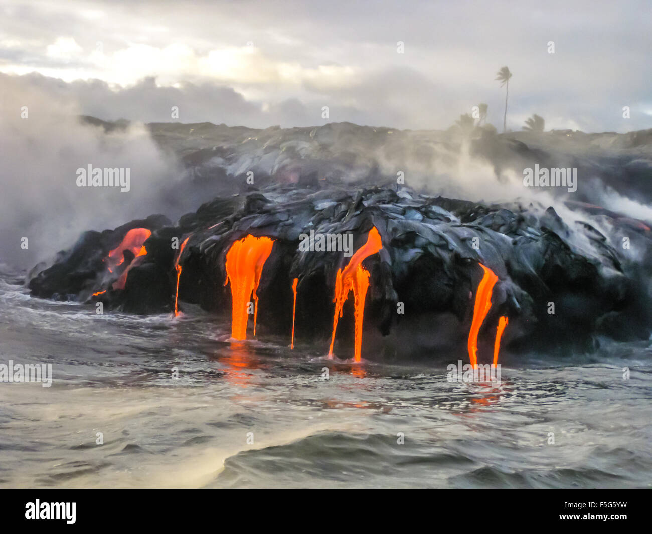 Kilauea Hawaii - Stock Image
