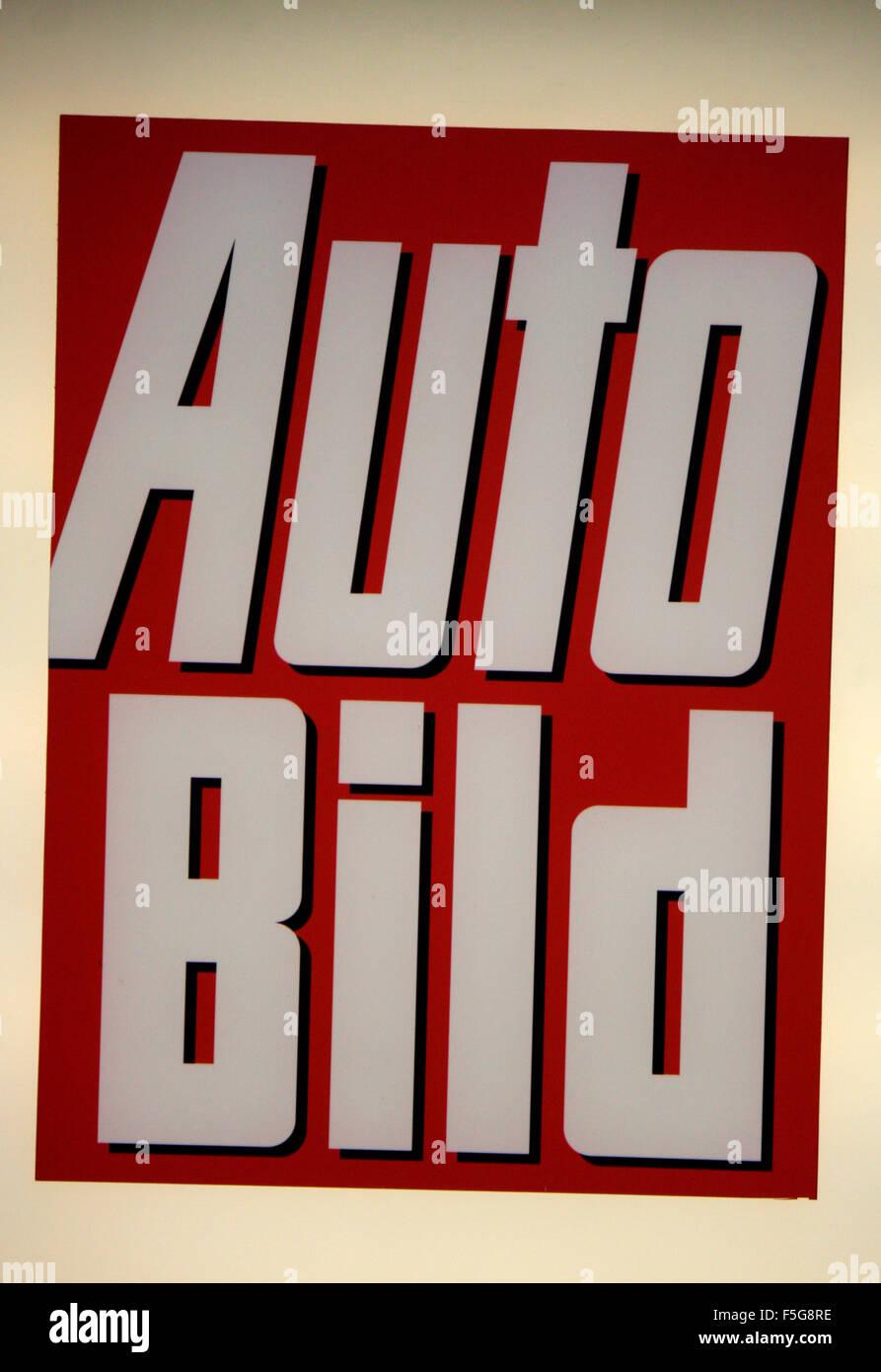 Markenname: 'Auto Bild', Berlin. - Stock Image