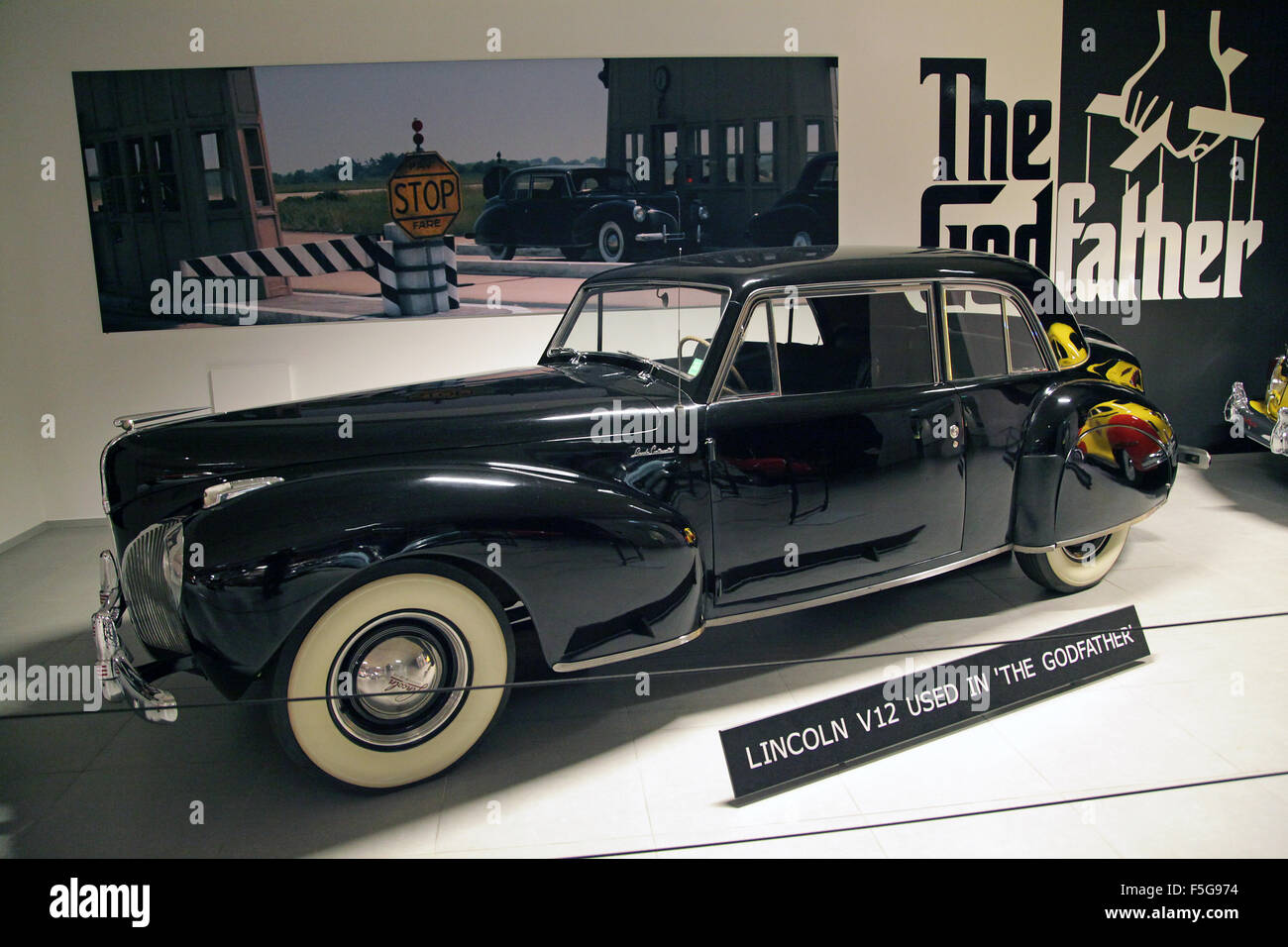 Lincoln Continental Stock Photos Images 1941 Town Car Vintage Veteran V12 Coup 48 Litre 12 Cylinder 120 Hp Used In
