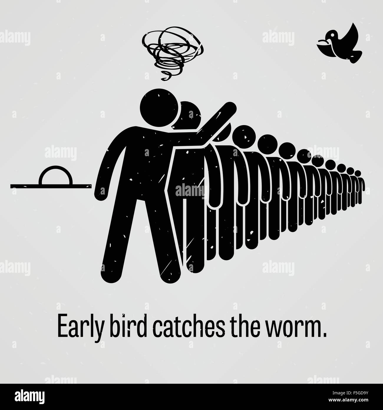 an early bird catches the worm The early bird gets the worm definition from wiktionary, the free dictionary jump to navigation jump to search contents  the early bird catches the.