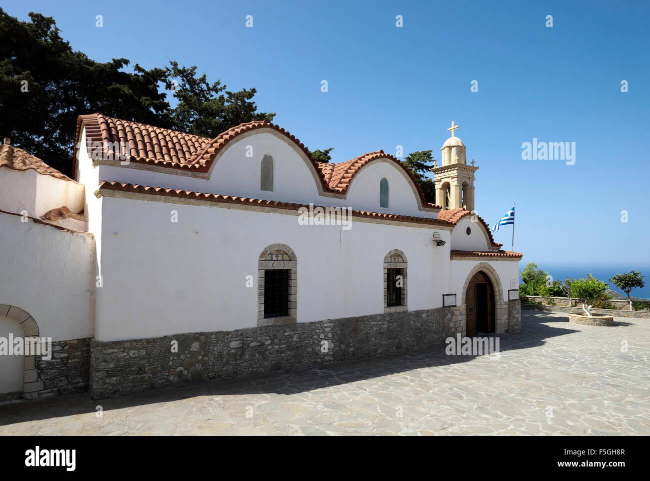 Skiadi, Rhodes, Dodecanese, Greece - Stock Image