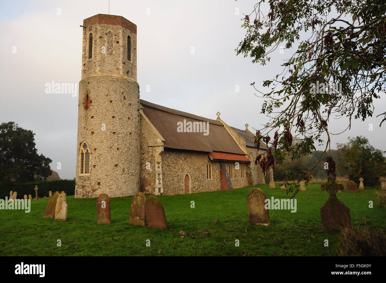 St Mary's church West Somerton Norfolk England UK - Stock Image