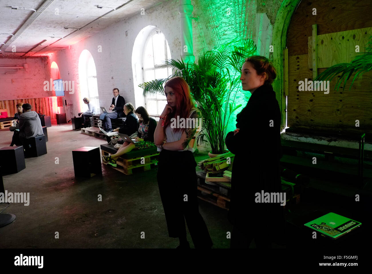Berlin, Germany, Tech Open Air TOA - Stock Image