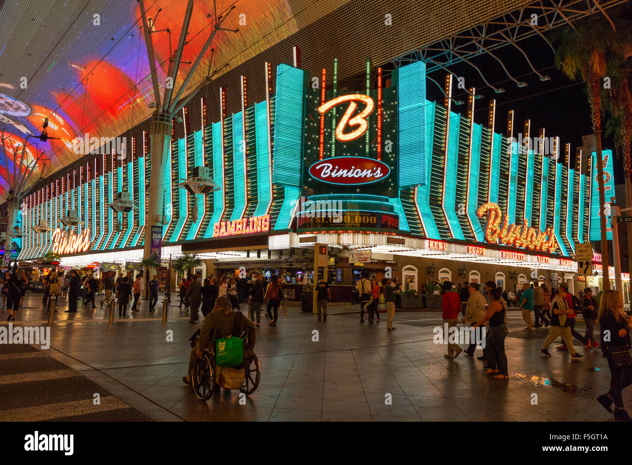 Binions Casino High Resolution Stock Photography And Images Alamy