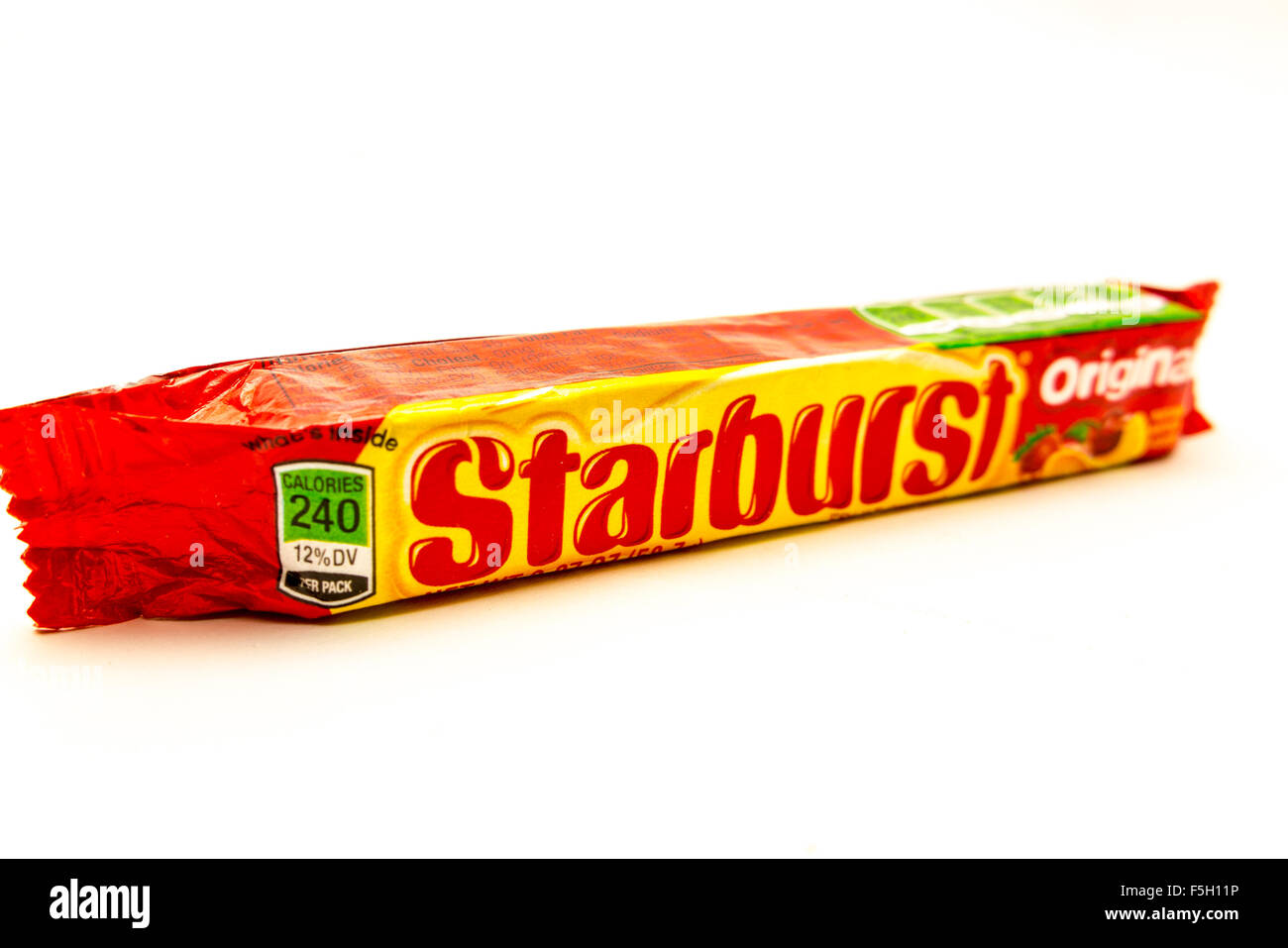 A Package of Starburst Candy made by the Wrigley company subsidiary