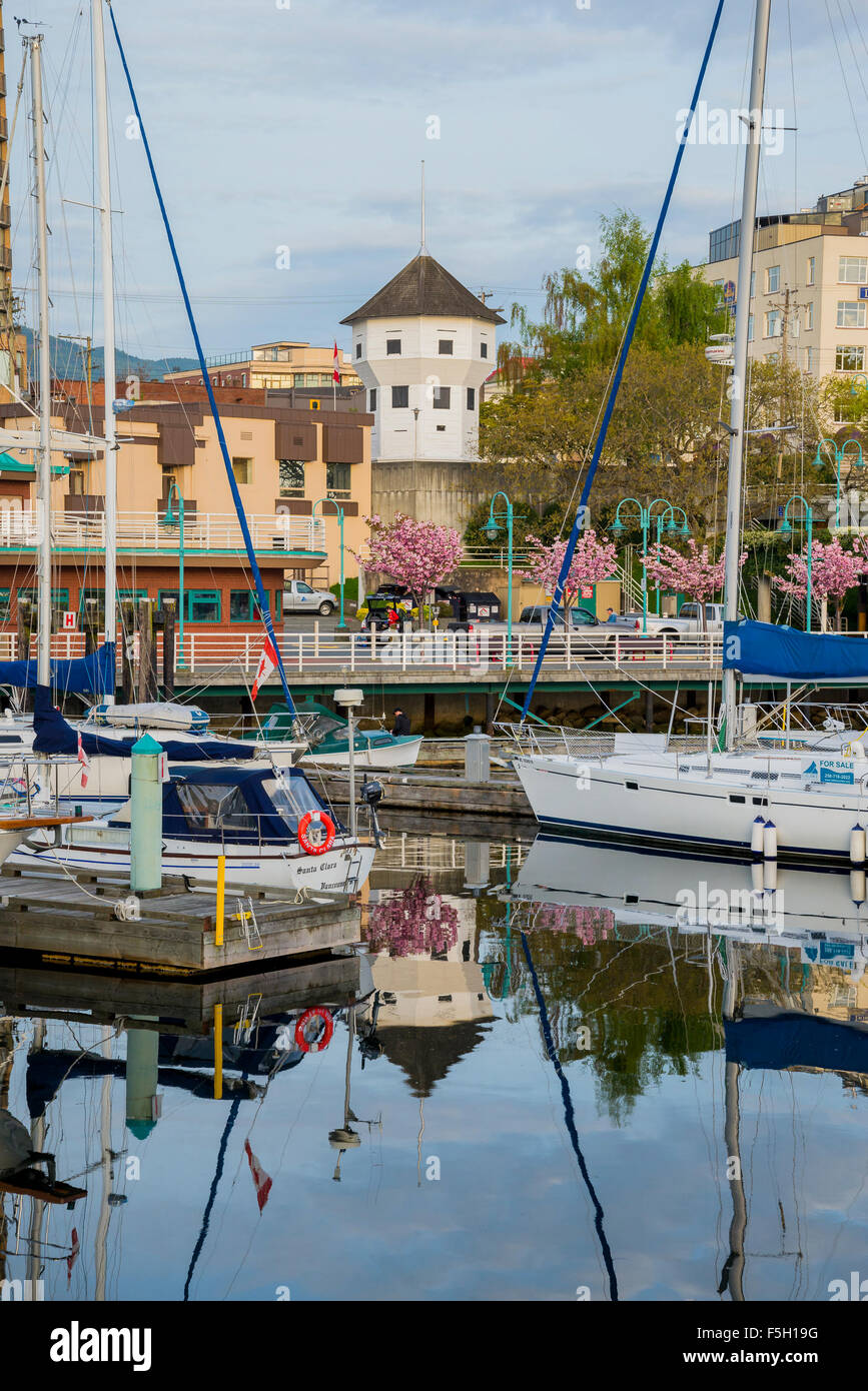 The Nanaimo Bastion, Nanaimo, British Columbia, Canada - Stock Image