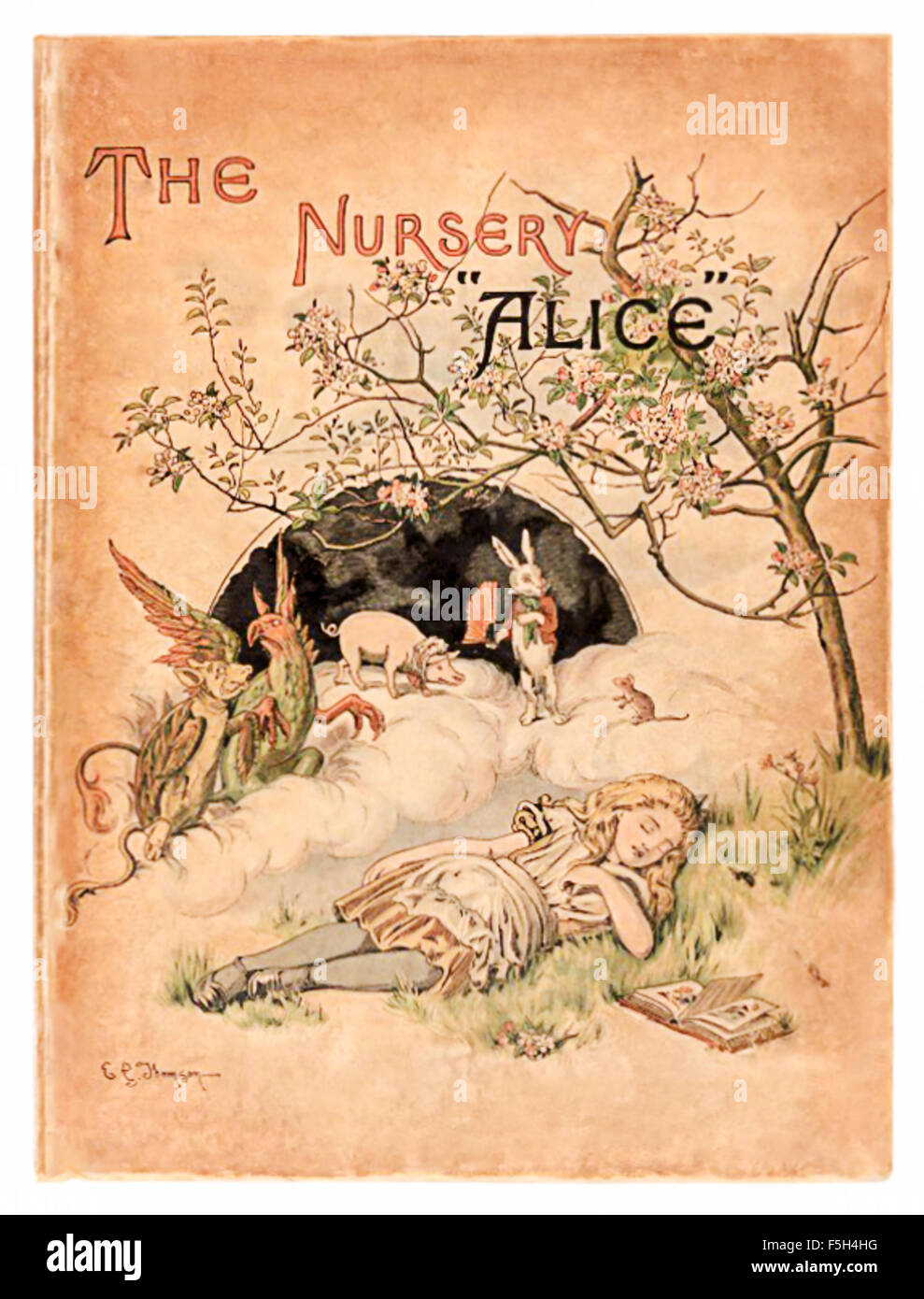 "'The Nursery ""Alice'', an shortened adaptation of 'Alice's Adventures in Wonderland' aimed at under - Stock Image"