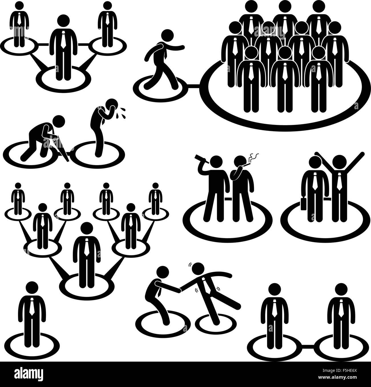 business businessman workforce team stick figure pictogram free vector stick figure stick figure vector free download